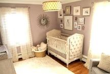 Baby | Girl Nursery | Glam / Baby girl nursery ideas | Shabby Chic, Glamorous