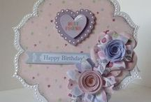 Flower Shaped Cards / by Craftwork Cards
