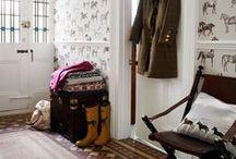 Hal in Landelijke Stijl - Country Styled Hallway
