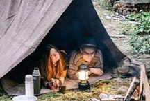 outdoor / De natuur op zijn mooist. (kamperen/wandelen/vissen/zeilen...)  Time camping isn't spent, it's invested!