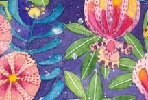 Gabby Malpas / New Zealand born Sydney based artist Gabby Malpas finds inspiration for her work from the tastes, sights and aromas that she experiences while living here in Sydney.  Her style of working with watercolours and inks is delicate and refined to an almost Zen-like level. View or purchase Gabby's work here: http://platformstore.com.au/collections/gabby-malpas