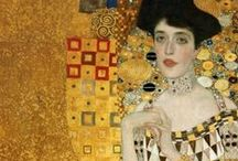 Gustav Klimt (1862-1918) / Gustav Klimt  (July 14, 1862 – February 6, 1918) was an Austrian symbolist painter and one of the most prominent members of the Vienna Secession movement. Klimt is noted for his paintings, murals, sketches, and other objets d'art. Klimt's primary subject was the female body; his works are marked by a frank eroticism.