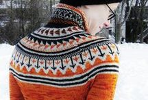 knit wit's end / Knitting inspiration- Fair Isle mostly.