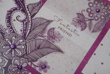 Velvet Plum Collection / by Craftwork Cards