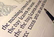 SCA Scribal Arts / Calligraphy, illumination, and book binding.