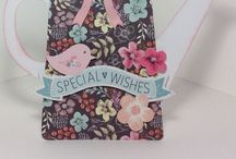 Easels, Birdcages and Watering Cans / by Craftwork Cards