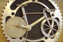 Bicycle Art / Kunst objecten van fietsonderdelen