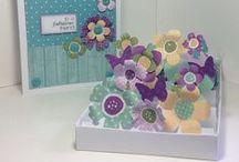 Matchbox Pop Up Flower Cards / by Craftwork Cards