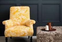 Fabrics for armchair