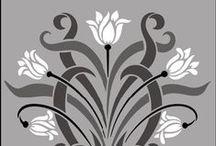 Art Nouveau / art, design, style, painting, ornament, pattern