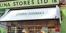 Delicatessens Londres / Tiendas delicatessen en Londres. #delicatessen #comida #tiendas #Londres