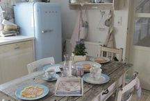 Retro Vintage Country pics. ❤ / Retro, Vintage, Toscania, Provence, Levander, Kitchen, The Country, Hippie, Boho, Art, Decoration, Elegance, Wedding, Dreams, Love, Furniture