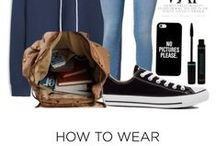 How to wear / outfit ideas // how to wears // clothes