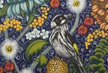 Amy Withnall / Artworks of Sydney painter Amy Withnall, inspired by a love of Australian plants and animals.