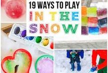 Snow Day! Craftivities and Art Projects for All Ages.