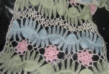 Hairpin Lace/Maltese Crochet/Вилка/horquilla / Hairpin Lace / Maltese Crochet / Forcella / Croche de Grampo / Horquilla / Renda De Gancho / Also broomstick / by Mary Claar