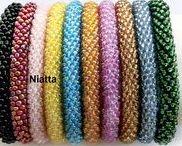 Jewelry / Crochet Jewellery, Crochet Ropes with Beads