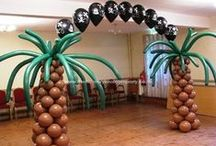 Balloon Artistry / This mood board showcases impressive balloon art and balloon characters to give you inspiration for your party or special occasion. Get in touch if you'd like us to decorate your event with some impressive balloon arrangements! Check out our price list: http://www.thememoryknotcompany.co.uk/pdf/2013_Balloon_Price_List.pdf
