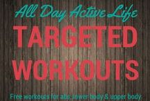 Targeted Workouts: Free Online Workout Sources / The internet has an endless supply of awesome trainers puting their workouts up for all to see.  We share videos and printables that you can use to get some new material and switch up old routines.