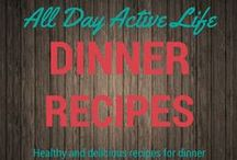 Dinner Recipes: Healthy & Easy / Healthy recipes for delicious dinners.  We share great recipes for families, couples and those trying to lead a healthy lifestyle.