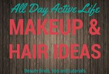 Beauty Board: Makeup and Hair Tutorials / Being healthy means healthy self image too.  And looking good makes you feel good.  Here are our favorite hair and makeup tips, trend, products and tutorials.