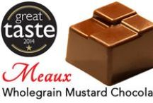 Meaux / (1) Second most populated city in the Seine-et-Marne in France  (2) Our Wholegrain Mustard Chocolates  Great Taste 2014 Award winner