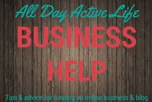 Online Business: Help, tips and advice for the online entrepeneur / If you run a business online, have a blog, or monetize online sales in any way, these tips and advice on running a profitable business will be very helpful.