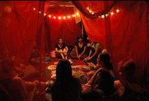 The Red Tent Online Course / To secure your place in the 2014 intake visit http://www.starofishtar.com/portfolio/red-tent-facilitator-training-course/