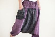 Hippie Pants / Handmade pants that truly express your free-minded spirit