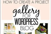 blog goodies / Tips and tricks on starting and maintaining your own blog. How to blog and how to run a blog. Worpress ideas and wordpress instructions.