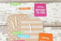 Party Ideas - Birthday / Our favorite Birthday party Ideas! From a first birthday to a 60th birthday! You will find it here