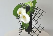 Crazy Cool & Sogetsu School / Ikebana design and arrangement that is edgy, artsy and inspiring.
