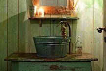 Rustic Design Ideas / Woodsy, Shabby Chic, DIY, Modified, Repurposed, Reused, Recycled