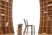Bookshelves and Bookcases / What to do about all of those books? From Modern and Contemporary to Rustic and Primitive, Style solutions for all of your book storage needs. Plus a few other book related ideas.