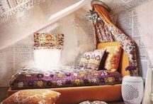 Attic Spaces / Ideas for turning that unused attic space into an extra bedroom, getaway room, reading room, meditation space, etc....