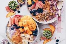 Smoothies & Bowls / Health, fitness, healthy recipes, clean eating, fit, exercise, workout, smoothies, fruit, banana ice cream, vegan, vegan recipes, vegan food