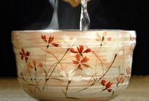 Clay Chawan, Yunomi and Ochoko / Asian tea bowls and drinking cups