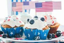 Patriotic Ideas - 4th of July and MORE / Patriotic crafts and inspiration. 4th of July party ideas, food and drinks.