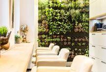 Salon- neue Loungen / 2014 wurden unsere neuen Loungen eingeweiht. Perfekt für das Thema Zweithaar, Haarverlängerung oder einfach einen netten Frauenabend...