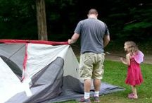 Camping / Tips and tricks for camping with kids, including recipe ideas, organization, and excellent packing lists.