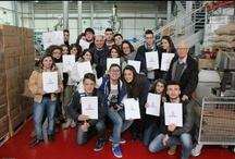 Open day 13mar2013 / Gli studenti dell'Istituto Commerciale in visita da Spinelli Caffè