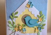 Stampin' Up! / Handmade cards and projects using a variety of Stampin' Up! products, current and retired.