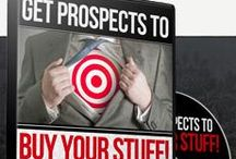 Prospecting / Pins about prospecting for business, for group memberships, for anything to draw the interest of other people.