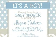 BABY SHOWER / Ideas para baby showers