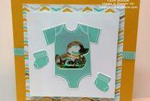 Baby Card Ideas / Ideas for handmade baby cards