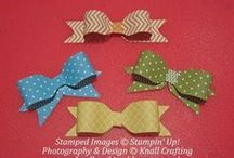 Bows & Knots / How to create pretty bows and knots for cards, packages and other projects.