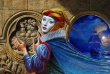 MICHAEL CHEVAL /  MICHAEL CHEVAL Michael Cheval is a contemporary artist specializing in Absurdist paintings, drawings and portraits. He is the co-founder of Cheval Fine Art Inc. and currently resides in New Jersey, USA