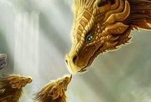 """DRAGONS,DRAGONS... / """"No, I would not want to live in a world without dragons, as I would not want to live in a world without magic, for that is a world without mystery, and that is a world without faith."""" ― R.A. Salvatore, Streams of Silver / DRAGONS, DRAGONS...."""