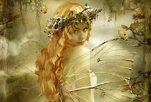 Realm of the Fays Fairy,Fae, Faery, Faerie / Realm of the fays fairy,fae,F, faery, faerie The fairy poet takes a sheet Of moonbeam, silver white; His ink is dew from daisies sweet, His pen a point of light. Oyce Kilmer