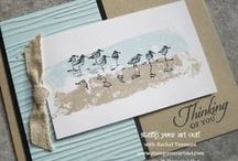 Painter's Tape / Cards and projects made with Painter's Tape, washi tape,  or masking tape
